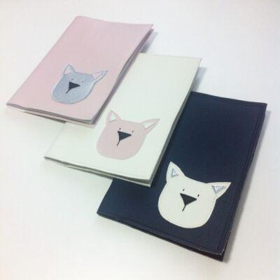 Textilbőr borító terhesgondozási kiskönyvre