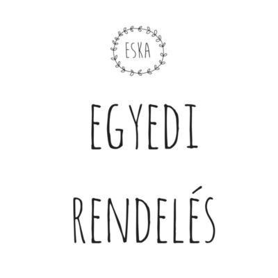 ESKA textilbőr neszeszer - egyedi rendelés